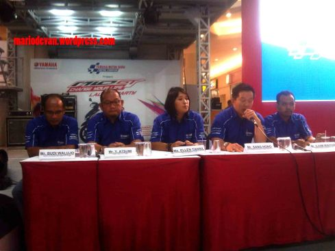 Press Conference Yamaha Motor Show & Launching Yamaha Mio GT