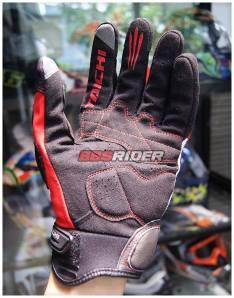 glove rs taichi velocity mesh carbon RST404 tampak telapak
