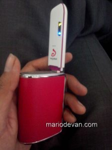 modem wifi smartfren dan power bank
