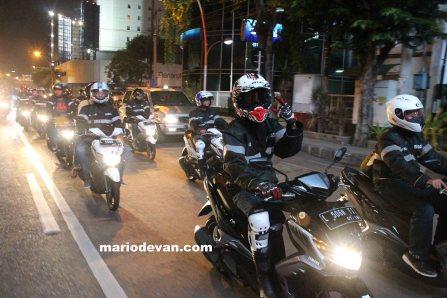 Rombongan CIty Touring Yamaha GT 125