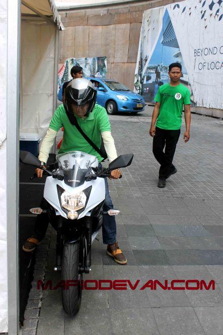 Test Ride Kawasaki Ninja Mono