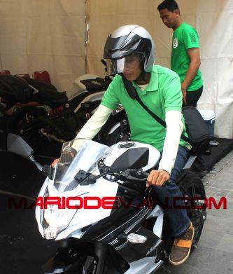 test ride Ninja Mono gan