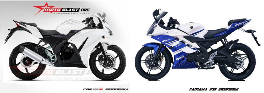 Cbr 150 Lokal Cbr 150 Indonesia vs Yamaha