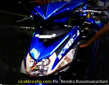 Yamaha Mio M3 Blue Mario Devan Blog S