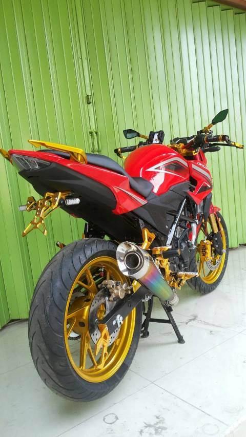 Honda CB150R Facelift Full Modifikasi… | SAiiSOKU.com