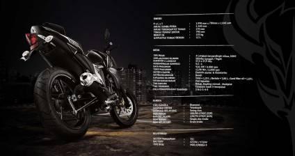 spesifikasi Yamaha byson FI indonesia