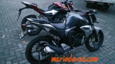 Yamaha Byson FI secara dimensi mampu bersaing dengan sport 250cc