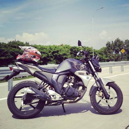 Test ride Yamaha byson FI di jalur High way