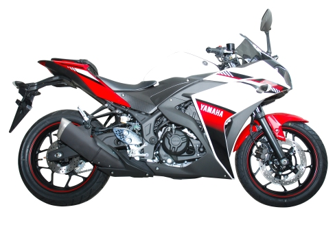 YZF-R25 ABS Diablo Red (Merah)