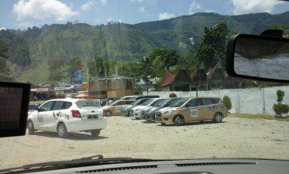 ini saat dari pulau samosir mau menyebrang kembali ke sumatra