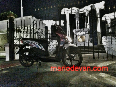 Honda beat pop test harian