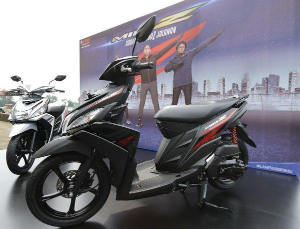Yamaha mio z resmi dilaunching dijual seharga 15 1 juta for Yamaha sports plaza promo code