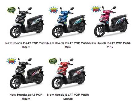 varian warna honda beat pop 2016