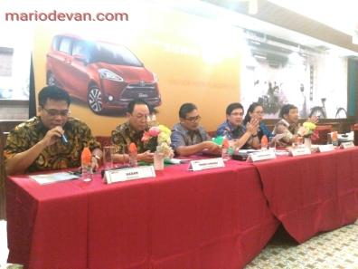 Toyota Sienta launching di jatim