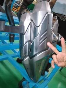 Bentuk Knalpot Honda CBR 250r