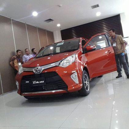 Toyota Calya Orange type G