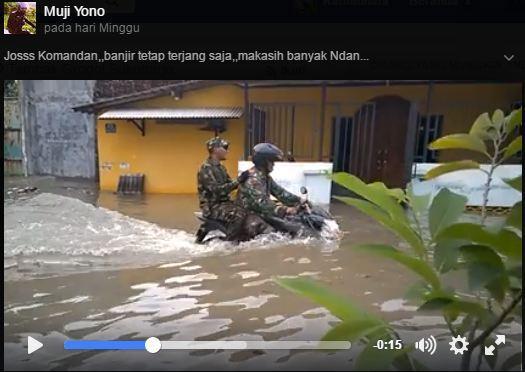 Vidio-TNI-Terjang-Banjir-Pake-V-ixion-Ramai-Di-Sosmed