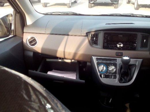 Bentuk dasboard Toyota calya tipe G manual