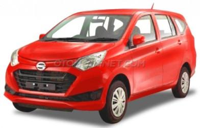 Daihatsu Sigra merah