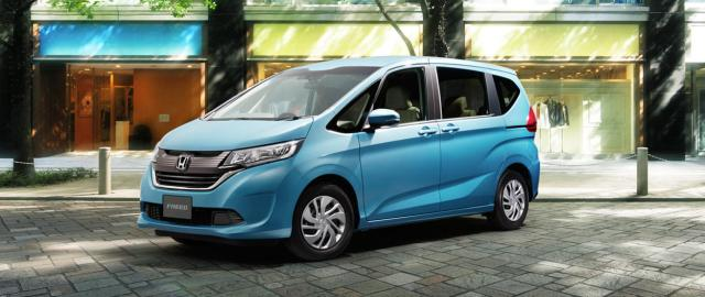 Honda freed 2016 biru