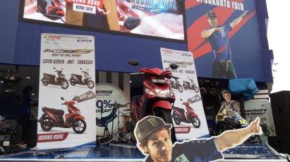 Yamaha Mio Z warna baru warna merah