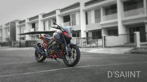 Yamaha Xabre modif minimalis