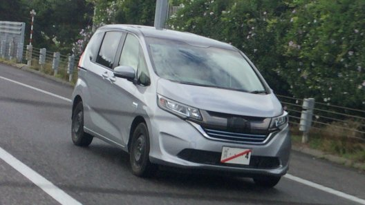 All New Honda Freed 2017 spyshoot