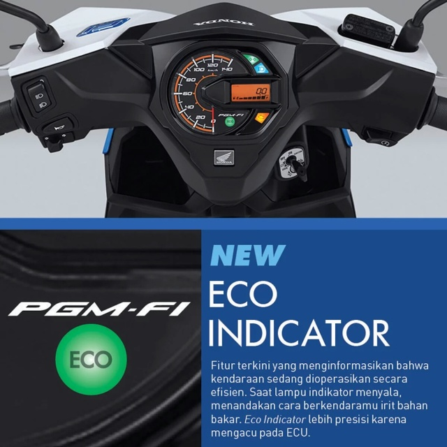 Eco indicator Honda Beat