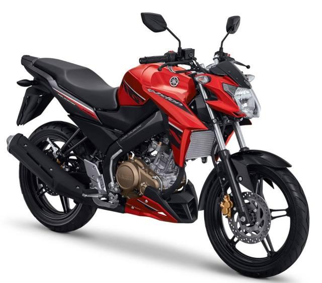 vixion new colour red