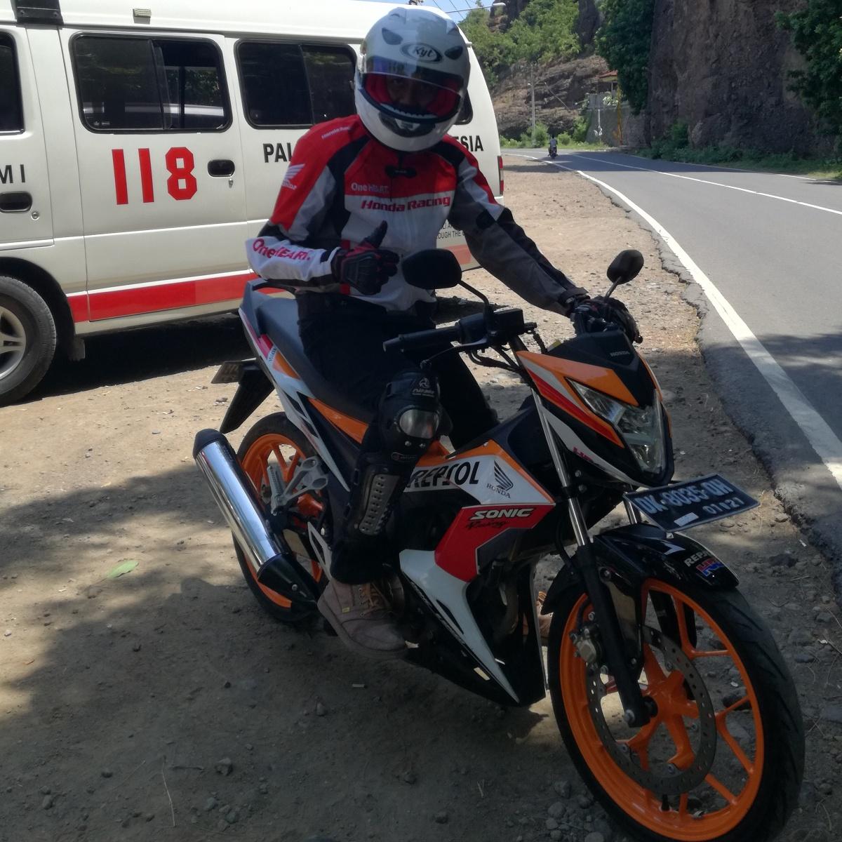 Modifikasi Motor Honda Sonic Terupdate 150r Aggresso Matte Black Boyolali Test Ride Jarak Jauh All New Obat Ganteng Para Remaja