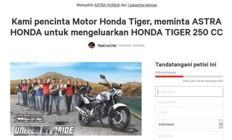 petisi-honda-tiger