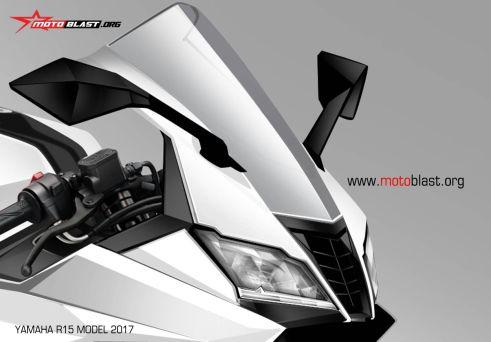 headlamp Yamaha R15 2017