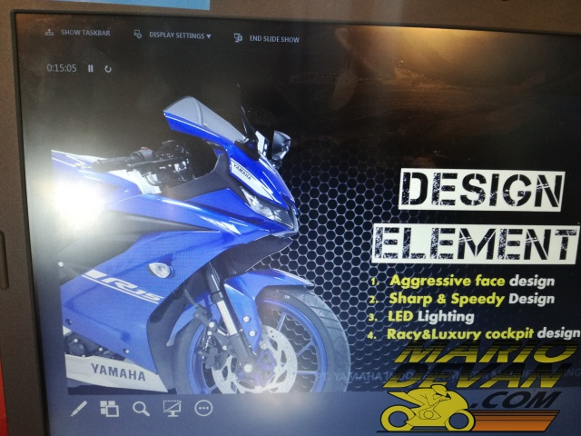 Design Element Yamaha R15 2017