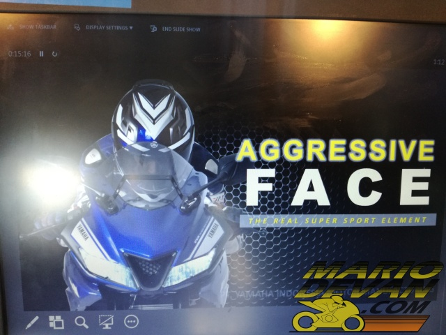 Agresive face Yamaha R15