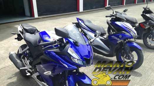 Yamaha R15 disandingkan dengan Aerox
