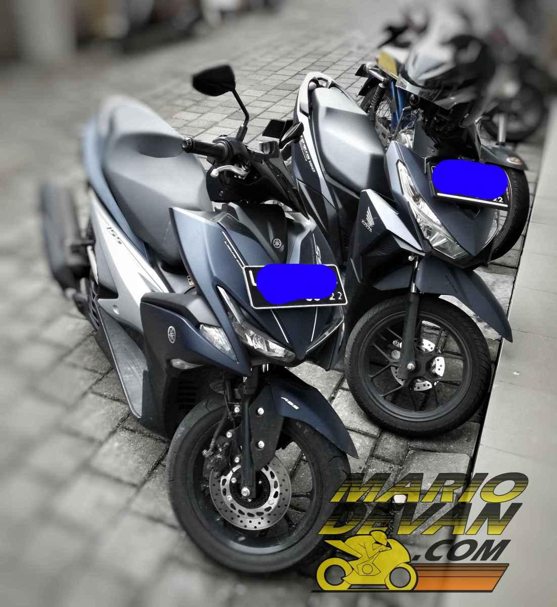 Yamaha Aerox 155 vs Honda Vario 150 pilih mana??