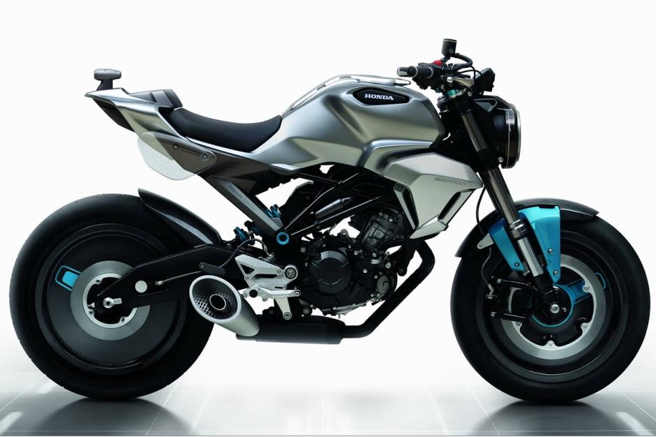 Honda cafe racer 150 ss concept