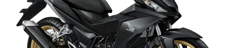 New Honda Supra GTR150-Gun Black
