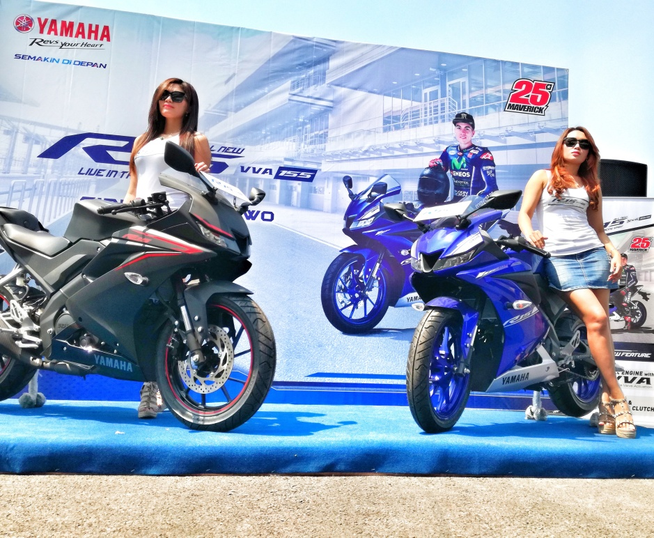 Yamaha R15 launching surabaya