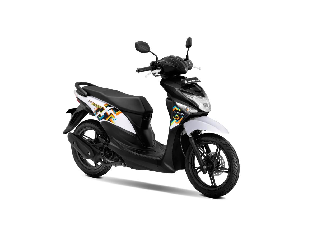Honda Beat POP eSP Punya Tampilan Anyar Loh!