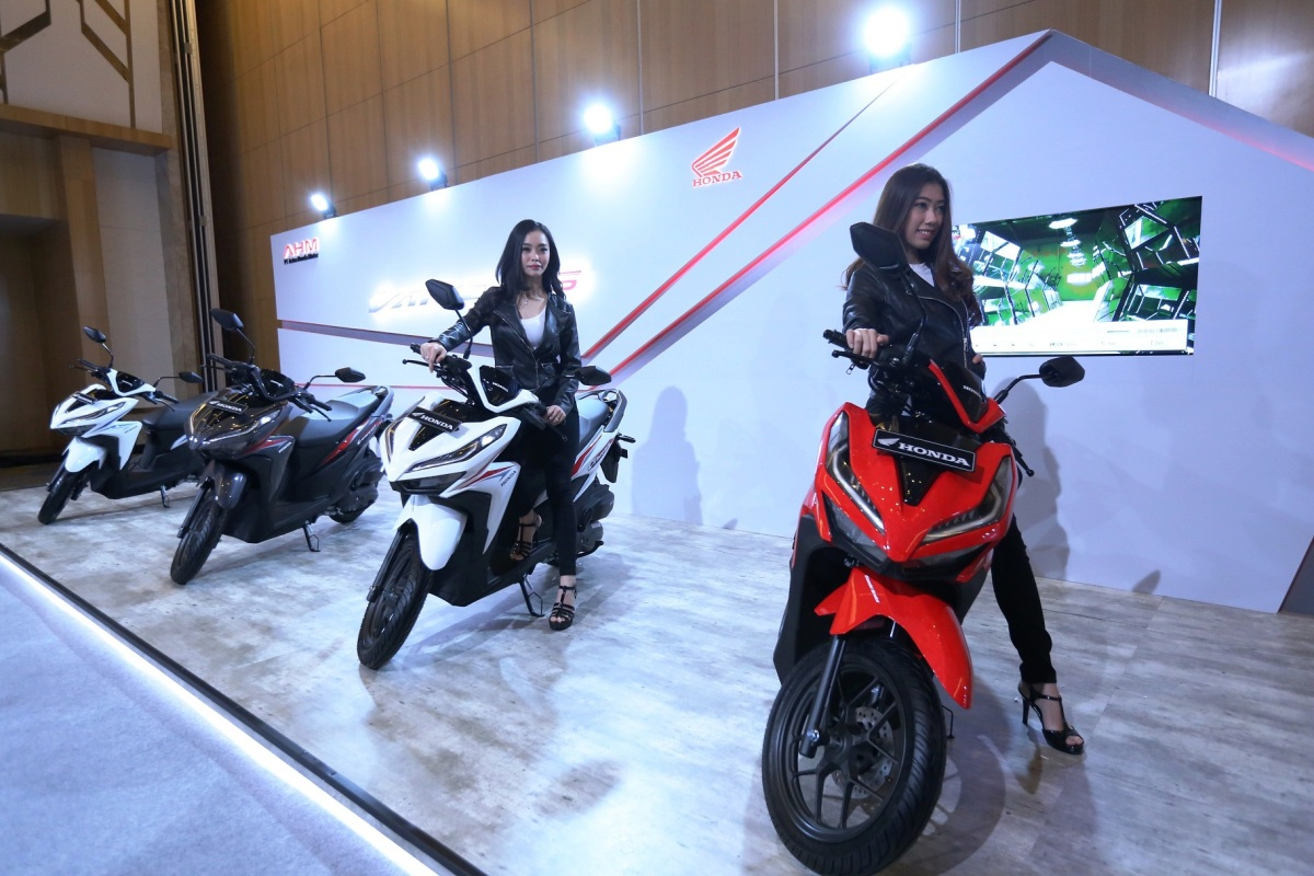 Press Release : AHM Launching All New Honda Vario 150 dan All New Honda Vario 125
