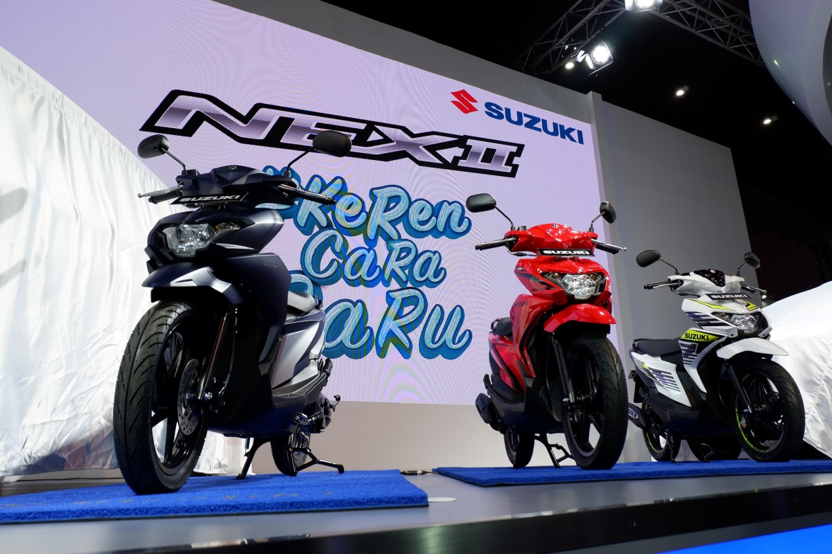 Press Release : Kenalin nih si NEX II dari Suzuki!Motor #KerenCaraBaru