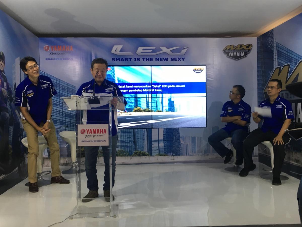 Yamaha Resmi meluncurkan Lexi, harga mulai 19,95 juta