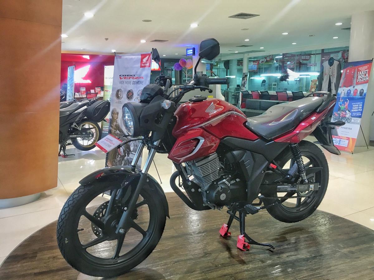 Resmi Launching Di Jatim Harga Cb Verza 150 Hanya Naik 30ribu Honda Cw Mario Devan Blogs