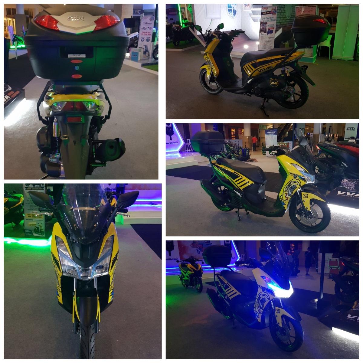 Modif Yamaha Lexi ini, bikin jatuh cinta ingin memiliki!