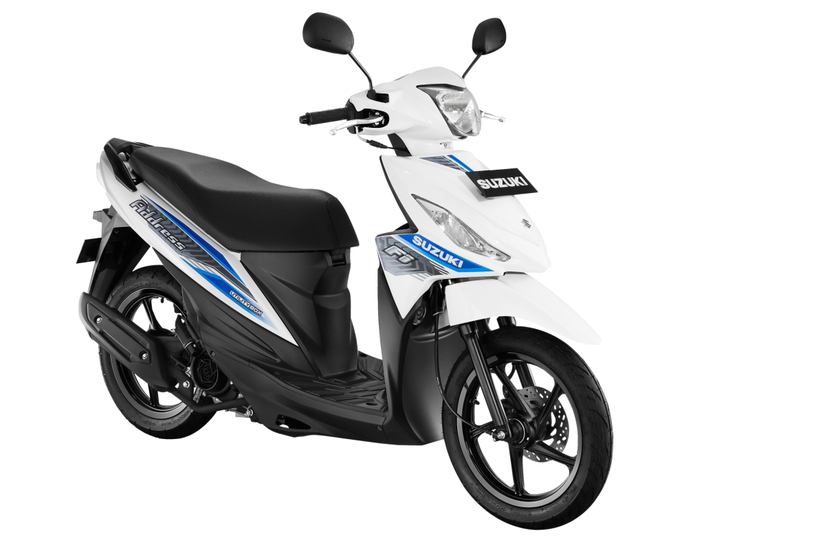 Press Release : Makin Seger! Suzuki Address FI Hadir Dengan Warna Baru!