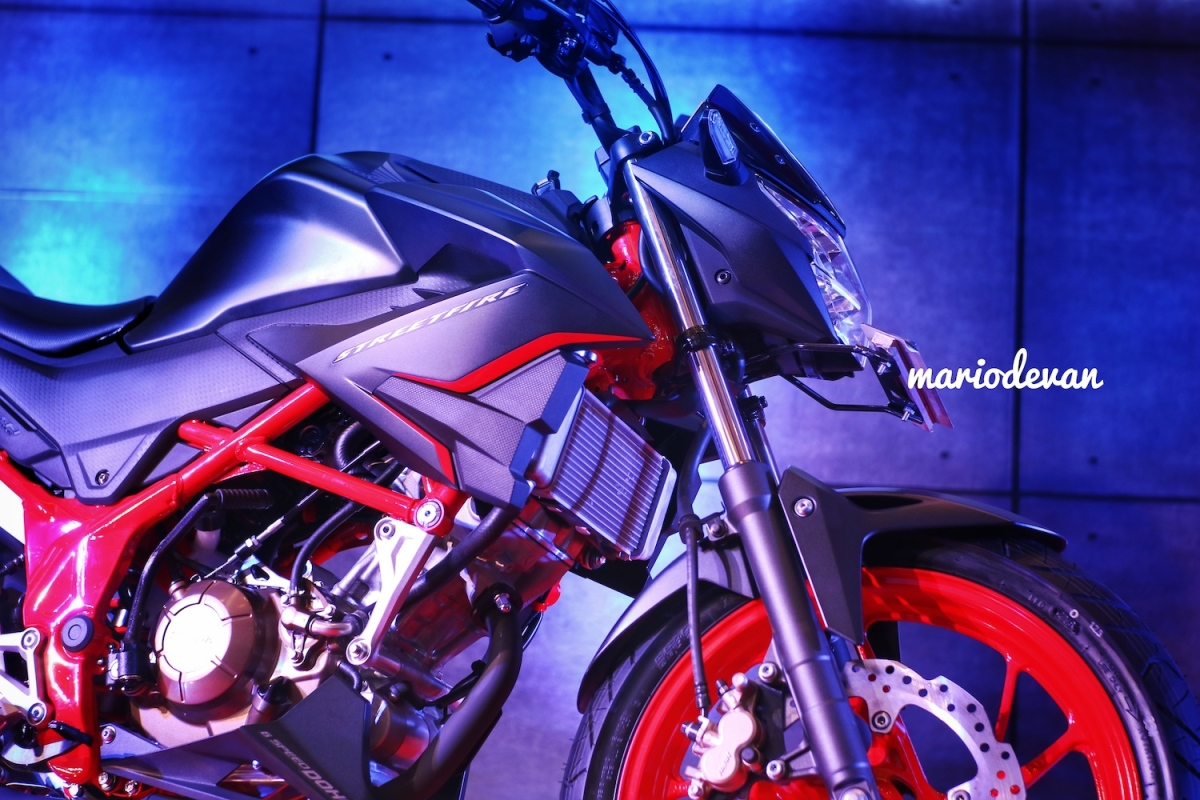 Sasis Honda CB150r versi baru diperkuat!