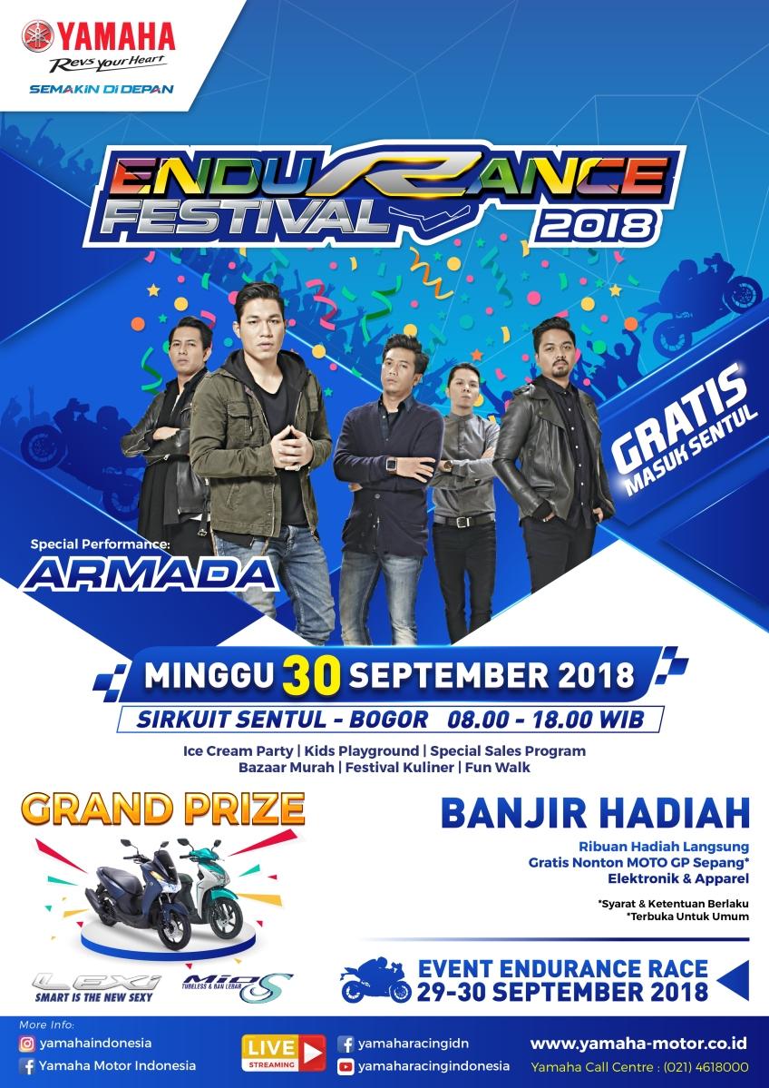 Press Release : Yamaha Endurance Festival, Ukir Sejarah Dengan Hadirkan Balap Ketahanan Pertama di Indonesia