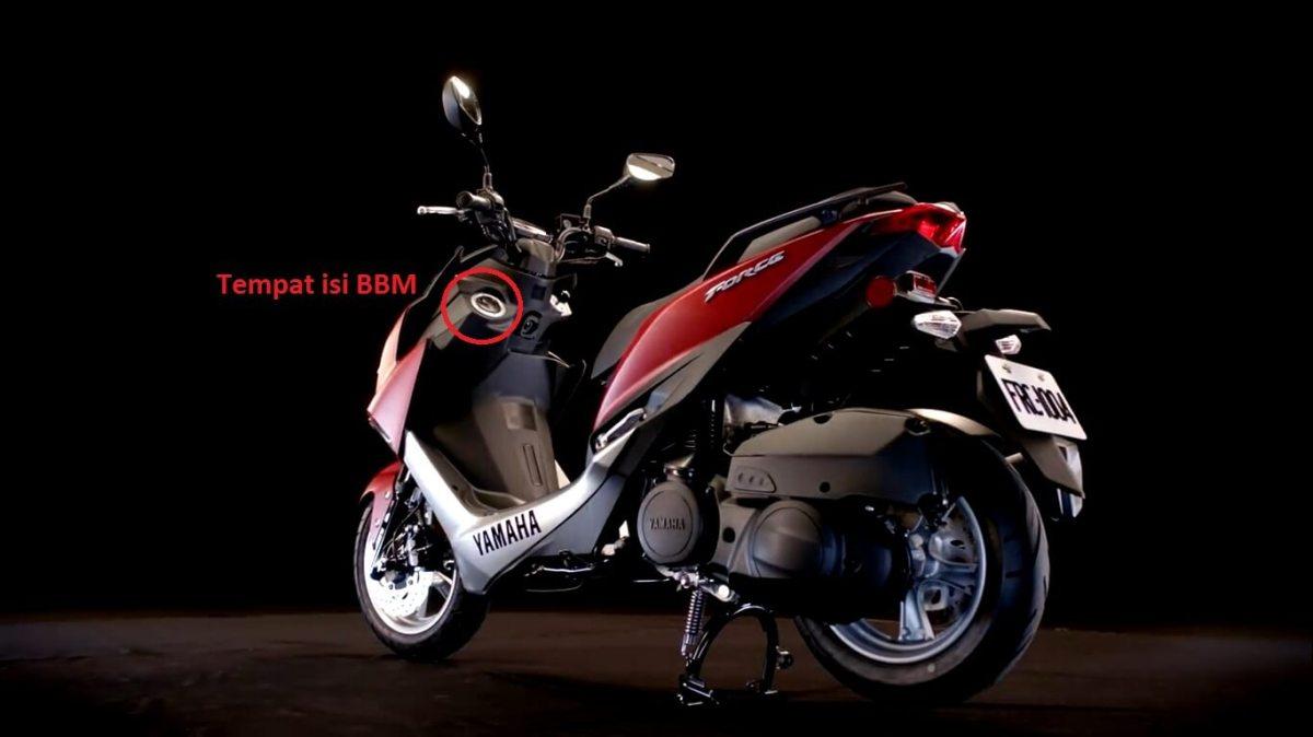 Matic baru Yamaha untuk melawan Vario, akan mengaplikasikan mesin baru vva, dan Tangki didepan??