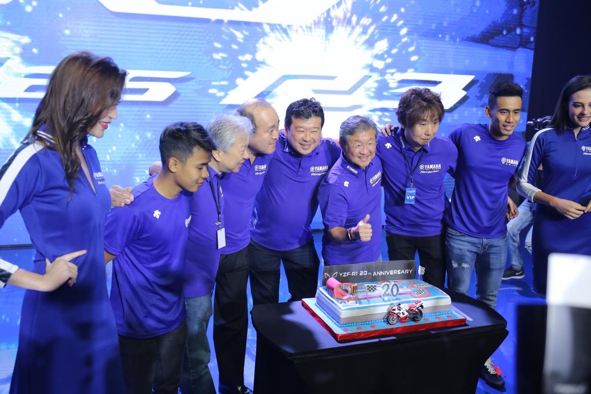 Press Release : 20 Tahun Kiprah YZF-R1, Sang Perkasa